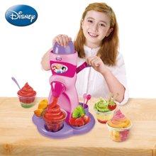 迪士尼冰果机蔬果机儿童雪糕机水果冰淇淋机 冰雪水果机生日礼物 公主款