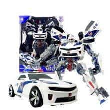 锦江变形玩具之擎天战警(13寸中国特警车)8816A