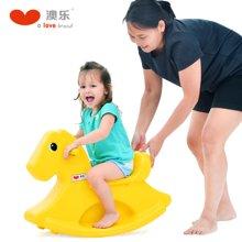 澳乐儿童摇摇马 宝宝婴儿小木马室内塑料玩具一周岁礼物