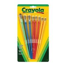 【美国】Crayola绘儿乐 颜料画刷 儿童绘画涂鸦笔刷套装 3岁以上 (8支装)
