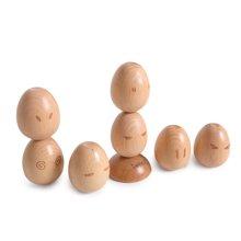 木玩世家爱木原木系列 淡定儿童成人益智手工创意进口原木积木玩具i4011