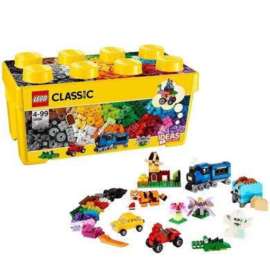 樂高經典創意系列 10696 經典創意中號積木盒 LEGO 積木玩具