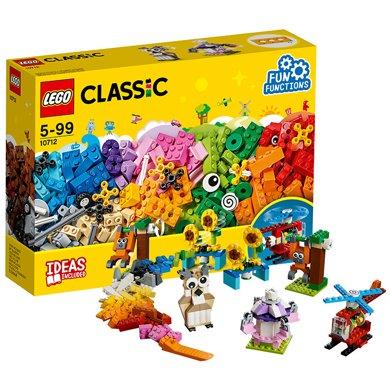 樂高經典創意系列 10712 齒輪創意拼砌盒 LEGO 積木玩具