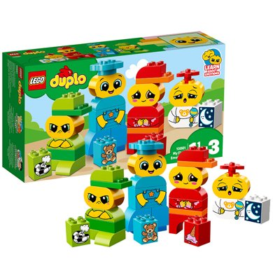 乐高得宝系列 10861 ?#19994;男?#23567;表情包 LEGO DUPLO 积木玩具