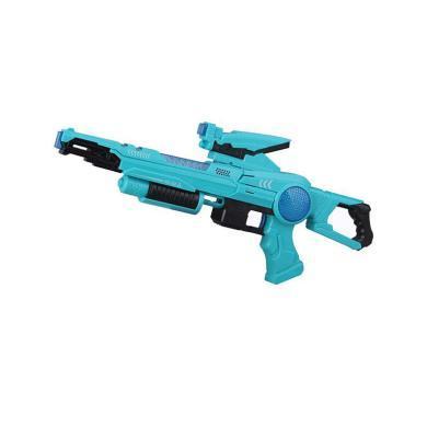 脈沖步槍-極光電動聲光玩具槍模型玩具TZ-100