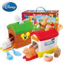 迪士尼3D打印泥 打印机动物世界套装儿童彩泥橡皮泥无毒不干玩具