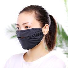 修允菲男女防曬冰絲口罩薄款透氣開口式遮陽戶外騎行口罩RKZ-6411