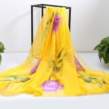 修允菲2019春夏季百搭雪纺女士丝巾披肩长款遮阳防晒沙滩巾RDSJ2008