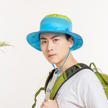 修允菲 户外2019年遮阳帽子情侣渔夫可折叠太阳帽夏季防晒帽骑车旅游登山帽