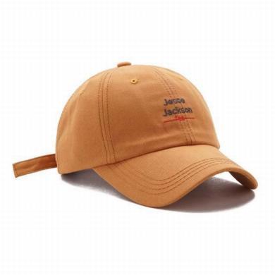 修允菲 帽子2019年春夏遮陽棒球帽休閑軟頂鴨舌帽男女韓版百搭字母刺繡帽