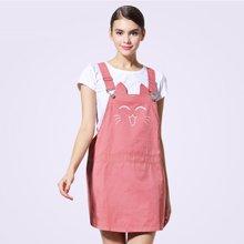 婧麒新款立體造型孕婦防輻射連衣裙背帶裙  jc8380  包郵
