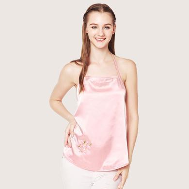 摩登孕媽 新款四季防輻射服銀纖維孕婦裝刺繡內穿防輻射肚兜