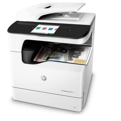 惠普HP- PageWide Pro MFP 777z頁寬復印機(主機+自動雙面輸稿器+雙面器+單紙盒+工作臺)(1)