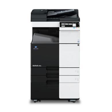 柯尼卡美能達黑白復印機bizhub308e(主機+雙面器+雙面送稿器+工作臺+EPPO文檔編輯軟件-五年(bizhub308e)