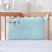 威尔贝鲁 初生婴儿枕头0-1岁透气预防偏头宝宝新生儿定型枕U形枕