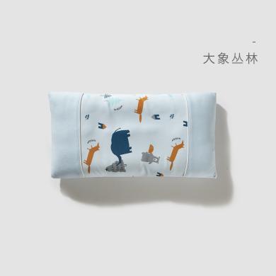 威尔贝鲁儿童枕头 卡通宝宝枕头 1-3-6岁 小孩幼儿园枕头 纯棉 四季通用