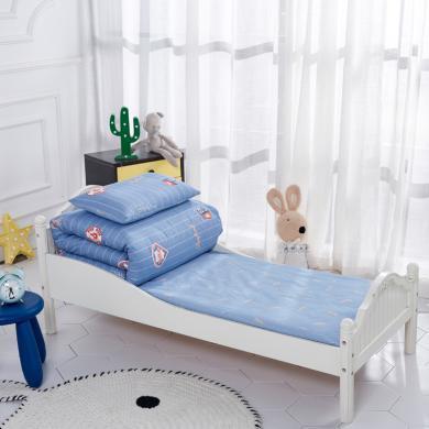 妈唯乐 Marvelous Kids 幼儿园被子三件套全棉儿童被褥宝宝午睡纯棉AB版床品含芯六件套