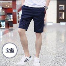 花花公子贵宾 夏季新款韩版修身男士五分裤中裤休闲裤