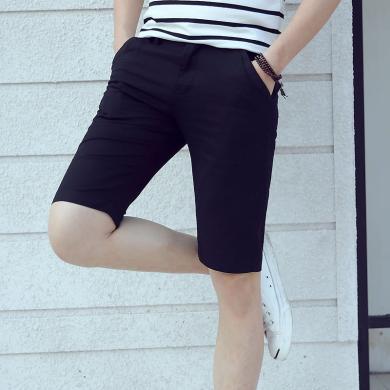 卓狼短裤男士休闲五分裤夏季薄款韩版纯棉潮流夏天5分中裤宽松男裤K2233DQC