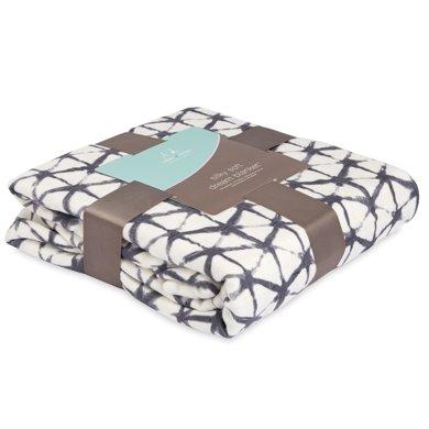 aden+anais美國品牌扎染系列嬰兒竹棉夢鄉蓋被寶寶抱毯