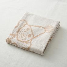 德国SonnenStrick有机棉婴儿毯抱毯宝宝毯小丑图案 棕色