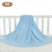 良良冰丝毯 宝宝竹纤维盖毯 新生儿空调毯柔软轻薄凉爽透气毯