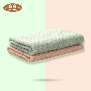 良良毯子嬰兒毯嬰幼兒竹絲毯大號嬰兒蓋毯毯子寶寶蓋毯嬰兒被子