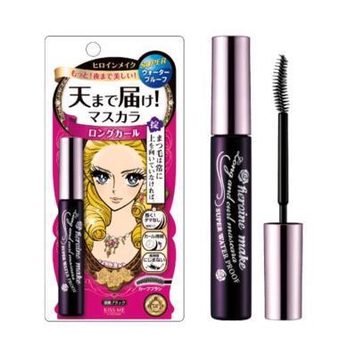 【支持购物卡】日本Kiss Me奇士美 花漾美姬红色纤长款睫毛膏 01#漆黑色 6g