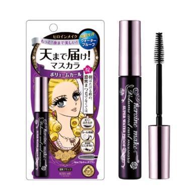【支持购物卡】日本Kiss Me奇士美 花漾美姬紫色浓密款睫毛膏 01#漆黑色 6g