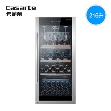海爾冰吧卡薩帝冰吧紅酒柜冷藏柜家用216升Haier/海爾 JC-216BPU1