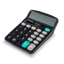 晨光标朗计算器大按键计算机财务专用太阳能学生办公用品ADG98837