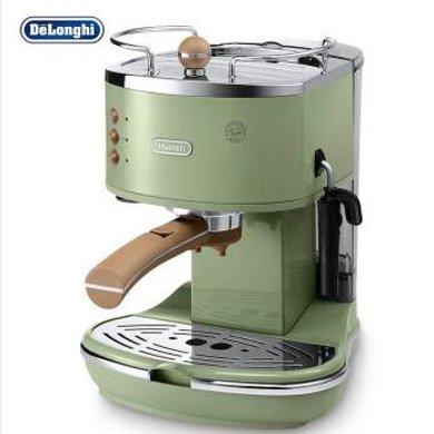Delonghi德龍 ECO310(橄欖綠)泵壓式咖啡機 家用 商用 意式 半自動咖啡機 不銹鋼鍋爐