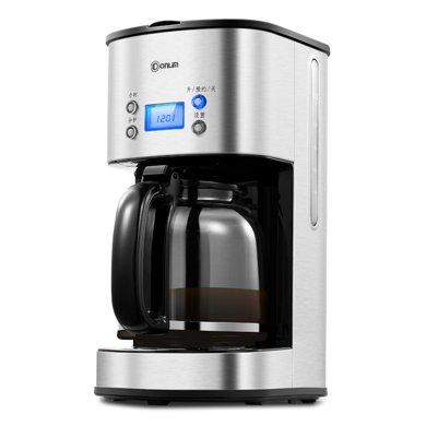 東菱(Donlim)CM-4216 咖啡機 家用半自動高硼硅玻璃壺 微電腦美式滴漏咖啡機