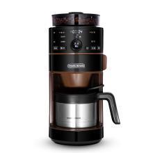 摩飞(Morphyrichards)咖啡机全自动磨豆家用咖啡机不锈钢保温咖啡壶 豆粉两用MR1103