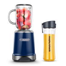 摩飞(Morphyrichards)榨汁机原汁机 便携式果汁机料理搅拌机梅森杯MR9500