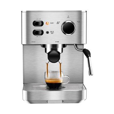 東菱(Donlim)DL-DK4682 咖啡機家用 意式半自動 全不銹鋼蒸汽打奶泡