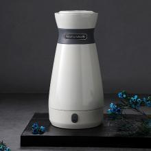 摩飞电器(MORPHY RICHARDS)电热水壶旅行出差便携式保温瓶杯316双层不锈钢MR6080