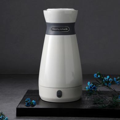 摩飛電器(MORPHY RICHARDS)電熱水壺旅行出差便攜式保溫瓶杯316雙層不銹鋼MR6080