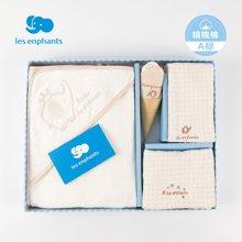 麗嬰房寢具新生兒全棉浴巾包巾禮盒 寶寶浴巾禮盒