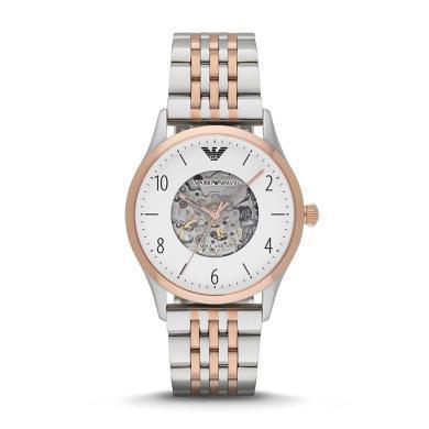 阿瑪尼(Emporio Armani)手表全自動機械男男士手表AR1921