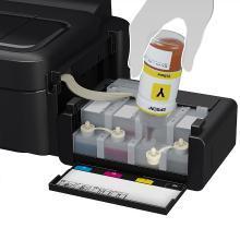 爱普生(EPOSN)L130 彩色墨仓式喷墨打印机(L130)