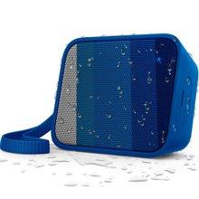 达宝恩 飞利浦(PHILIPS)BT110A 无线蓝牙音箱 便携迷你音乐魔方 兼容苹果/三星手机/电脑小音响 免提通话 蓝色