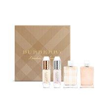 法国BURBERRY 博柏利经典款女性小淡香水套装(4.5ml*2+5ml*2)