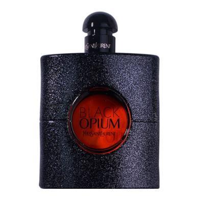 【支持購物卡】法國YSL圣羅蘭 Opium黑色奧飄茗女士香水EDP 90ml