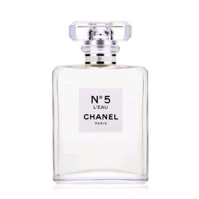 【支持購物卡】法國CHANEL香奈兒 5號女士淡香水 五號之水女士淡香水 100ml 新包裝