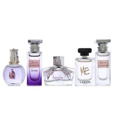 【支持购物卡】法国LANVIN浪凡女士香水套装礼盒 旅行装小样 5件/套 法?#25509;?#38597;经典代表香水