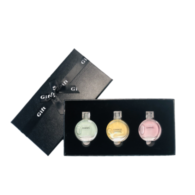 【支持購物卡】法國 Chanel香奈兒香水小樣套裝禮盒邂逅7.5ml*3 )新舊版隨機發(介意慎拍)
