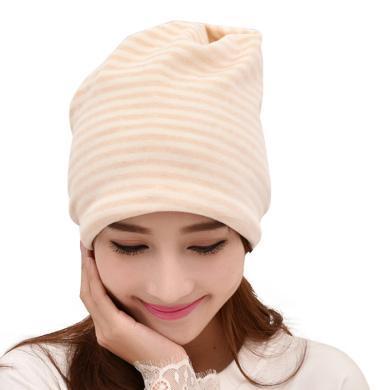 摩登孕媽 新款堆堆帽多功能月子帽套頭產婦防風帽子母嬰用品彈力頭巾女