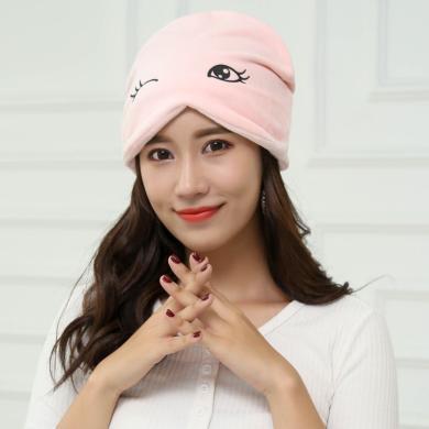 摩登孕妈 新款可爱套头月子帽多功能孕妇帽防风堆堆帽孕妇产后帽子女