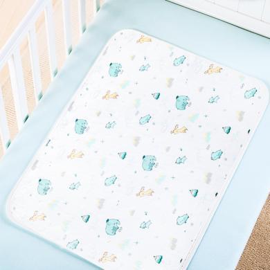 隔尿墊嬰兒防水可洗床單新生兒童寶寶尿布墊成人純棉月經姨媽墊子  Jgn1683